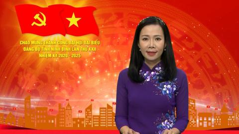 Thời sự Trưa NinhBinh TV - 24/10/2020
