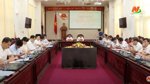 Tổ công tác Thanh tra Chính phủ làm việc với UBND tỉnh Ninh Bình