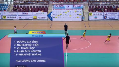 TP. Tam Điệp và huyện Yên Mô - Trận Chung kết Giải bóng đá Nhi đồng cúp PT-TH Ninh Bình năm 2019