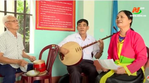 Trang văn nghệ quê hương: Người giữ lửa nghệ thuật truyền thống