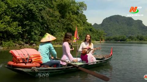 Trang văn nghệ quê hương: Những cô gái xứ Bạch Dương hát dân ca Việt Nam