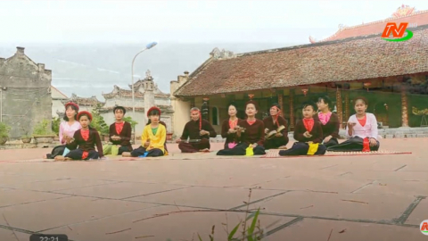 Trang văn nghệ quê hương: Sức sống mới của nghệ thuật truyền thống nơi làng quê