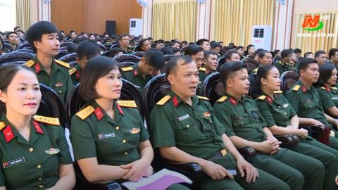 """Trao giải cuộc thi tìm hiểu """" Quân khu 3 - 75 năm đồng hành cùng dân tộc """""""