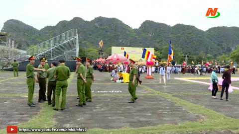 Triển khai các phương án đảm bảo ANTT Lễ khai mạc Năm Du lịch Quốc gia - Lễ hội Hoa Lư.