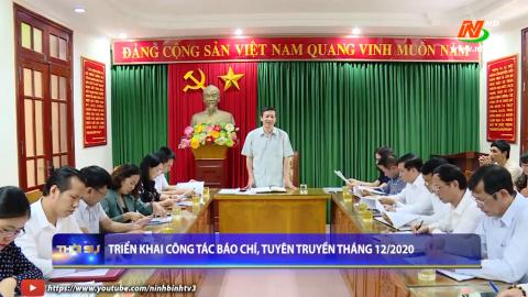 Triển khai công tác báo chí, tuyên truyền tháng 12/2020