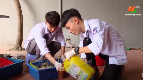 Trường THPT Đinh Tiên Hoàng đẩy mạnh phong trào sáng tạo KHKT