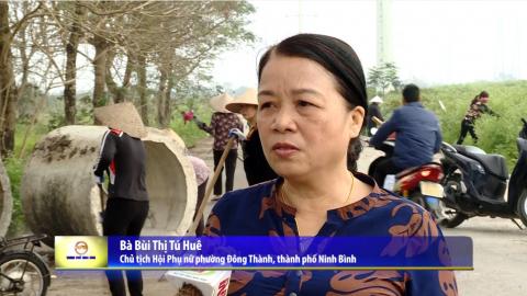"""Truyền hình thành phố Ninh Bình: Lan tỏa phong trào """"Ngày thứ 7 sạch"""" ở Thành phố Ninh Bình"""