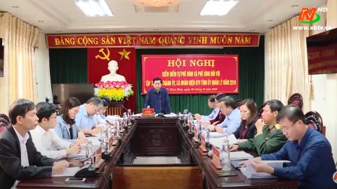 Truyền hình thành phố Ninh Bình: Niềm tin, kỳ vọng của nhân dân trước thềm Đại hội