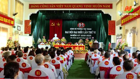Truyền hình thành phố Ninh Bình: Thành phố Ninh Bình chuẩn bị cho Đại hội Đảng bộ lần thứ XX