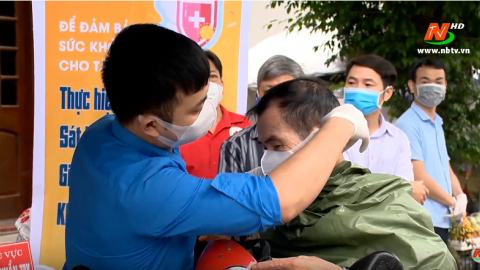 Truyền hình thành phố Ninh Bình: Thành phố Ninh Bình chung tay phòng, chống dịch Covid-19