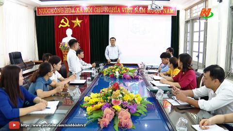 Truyền hình thành phố Tam Điệp: Công tác phát triển đảng viên ở thành phố Tam Điệp