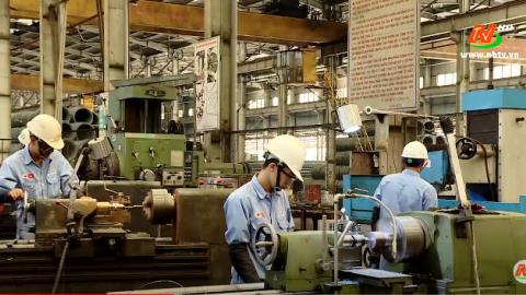 Truyền hình thành phố Tam Điệp: Tam Điệp đẩy mạnh phát triển ngành sản xuất vật liệu xây dựng