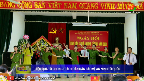 Truyền hình TP Ninh Bình: Hiệu quả từ phong trào toàn dân bảo vệ an ninh Tổ quốc