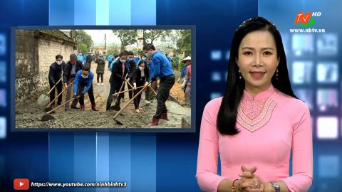 Truyền hình TP Ninh Bình: Tuổi trẻ thành phố Ninh Bình phát huy vai trò xung kích, tình nguyện