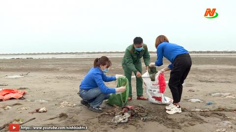 Tuổi trẻ Kim Sơn chung tay bảo vệ môi trường