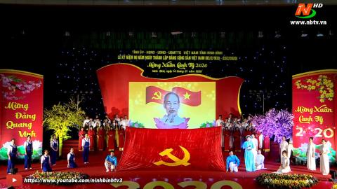 Tường thuật Lễ kỷ niệm 90 năm ngày thành lập Đảng Cộng sản Việt Nam (03/02/1930 - 03/02/2020)