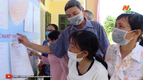 Tuyên truyền bầu cử cho người khuyết tật