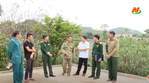 Tuyên truyền thanh niên dân tộc thiểu số tham gia nghĩa vụ quân sự