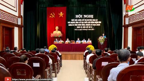 Ứng cử viên đại biểu HĐND tỉnh khóa XV, đơn vị bầu cử số 8 TXCT huyện Hoa Lư.
