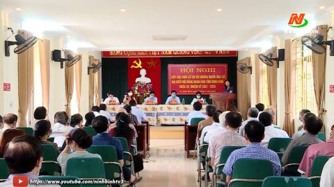 Ứng cử viên đại biểu HĐND tỉnh TXCT tại đơn vị bầu cử số 2 TP. Ninh Bình