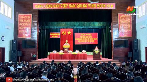 Ứng cử viên Đại biểu Quốc hội đơn vị bầu cử số 2 tiếp xúc cử tri huyện Kim Sơn