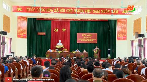 Ứng cử viên Đại biểu Quốc hội tiếp xúc cử tri huyện Kim Sơn