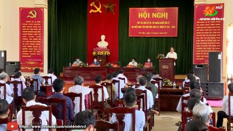 Ứng cử viên ĐB HĐND tỉnh khóa XV, đơn vị bầu cử số 10 TXCT huyện Yên Mô.