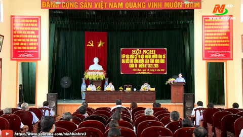 Ứng cử viên ĐB HĐND tỉnh khóa XV, đơn vị bầu cử số 11 TXCT huyện Yên Khánh.