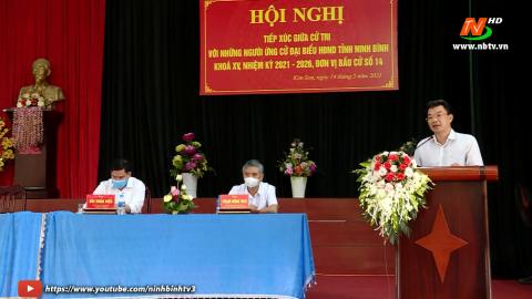 Ứng cử viên ĐB HĐND tỉnh khóa XV, đơn vị bầu cử số 14 TXCT huyện Kim Sơn.