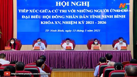 Ứng cử viên ĐB HĐND tỉnh khóa XV, đơn vị bầu cử số 2 TXCT Thành phố Ninh Bình.