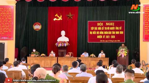 Ứng cử viên ĐB HĐND tỉnh khóa XV, đơn vị bầu cử số 7 TXCT huyện Gia Viễn.