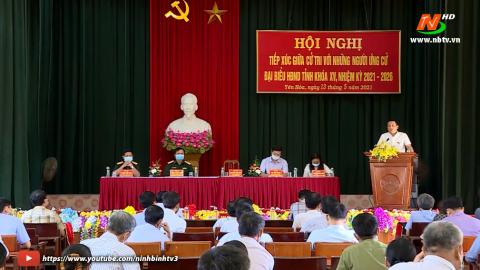 Ứng cử viên ĐB HĐND tỉnh khóa XV, đơn vị bầu cử số 9 TXCT huyện Yên Mô.