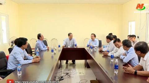 Đoàn công tác của Ủy Ban Kinh tế Quốc hội làm việc với UBND tỉnh Ninh Bình