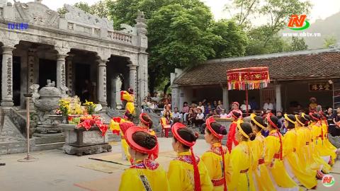 Văn hóa và đời sống: Dấu ấn triều Trần trong lòng nhân dân Ninh Bình