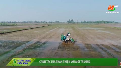 Vì chất lượng cuộc sống: Canh tác lúa thân thiện với môi trường