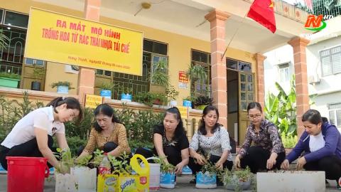 Vì chất lượng cuộc sống: Chung tay chống rác thải nhựa ở Bích Đào