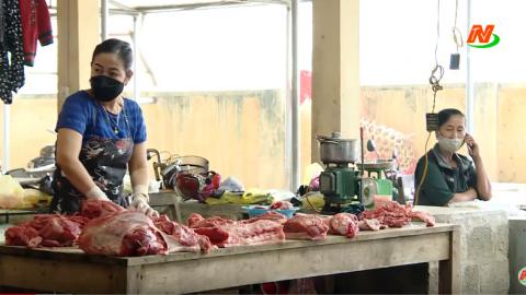 Vì chất lượng cuộc sống: Công tác phòng chống dịch ở chợ nông thôn