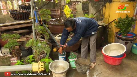 Vì chất lượng cuộc sống: Gia Lạc thiếu nước sạch sinh hoạt