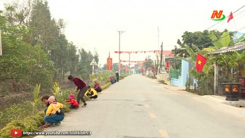 Vì chất lượng cuộc sống: Nâng cao chất lượng môi trường ở xã Khánh Công