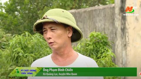 Vì chất lượng cuộc sống: Người dân Quảng Lạc mong mỏi nguồn nước sạch