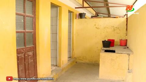 Vì chất lượng cuộc sống: Nhà vệ sinh trường học xuống cấp tại xã Ninh Hải
