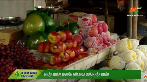 Vì chất lượng cuộc sống: Nhập nhèm nguồn gốc hoa quả nhập khẩu