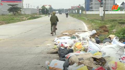 Vì chất lượng cuộc sống: Nhức nhối bãi rác tự phát ở nông thôn