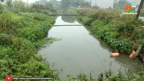 Vì chất lượng cuộc sống: Ô nhiễm môi trường trên kênh Quyết Thắng