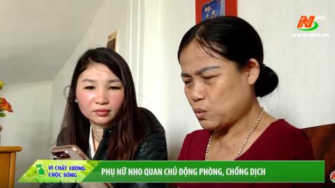 Vì chất lượng cuộc sống: Phụ nữ Nho Quan chủ động phòng chống dịch