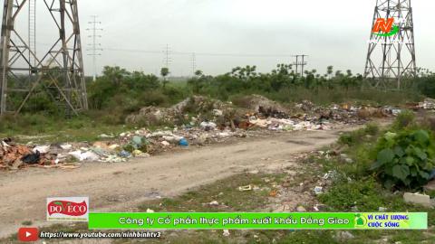 Vì chất lượng cuộc sống: Rác thải bừa bãi trên đê sông Đáy