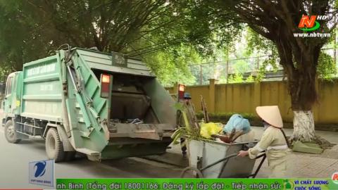Vì chất lượng cuộc sống: Tăng cường công tác vệ sinh môi trường đô thị