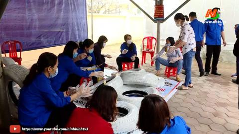Vì chất lượng cuộc sống: Tuổi trẻ Tam Điệp chung tay vì cuộc sống cộng đồng