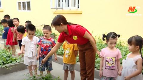 Vì chất lượng cuộc sống: Xây dựng môi trường giáo dục lành mạnh trong trường mầm non