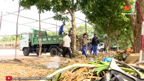 Vì chất lượng cuộc sống: Xử lý rác thải sau Tết